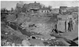 Main Street after flood, Silver City, New Mexico