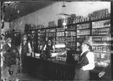 Interior of Keller-Miller Mercantile Store, Hillsboro, New Mexico