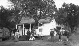 The Bloodgood Family at their home about two miles east of Kingston on the Hillsboro Road, New...