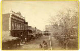 View of San Francisco Street, Santa Fe, New Mexico