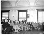 Audience for Governor Edwin L. Mechem's State-of-the-State Address, Santa Fe, New Mexico
