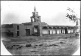 Church at Los Pinos encampment, New Mexico