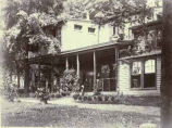 Copy photograph of residence