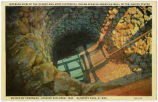 """Interior view of the Oldest and Most Historical Indian-Spanish-American Well in the United..."