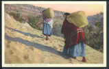 """Carrying Water to Tewa (Hopi), Arizona"""