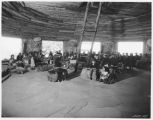 Man conducting Hopi meeting
