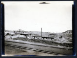 View of Lamy, New Mexico