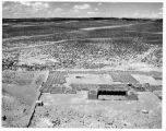Aerial view of Kuaua Pueblo at Coronado State Monument, New Mexico