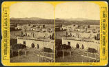 View of Cochiti Pueblo, New Mexico