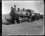 El Paso and Southwestern Railroad locomotive 119, Alamogordo, New Mexico