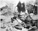 Annie Fields, Mohave Indian pottery maker, Colorado River Indian Agency,Parker, Arizona