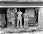 Unidentified officers, United States Army, South Pacific Theater, World War II