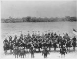 Rough Riders Troop E from Santa Fe, New Mexico in San Antonio, Texas