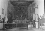 Interior view of Mission San Jose, Laguna, Pueblo, New Mexico