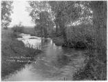 Irrigation canal in the Miami Valley, Colfax County, New Mexico