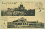 """Hotels of Las Vegas, New Mexico, Montezuma Hotel and Castenade Hotel"""