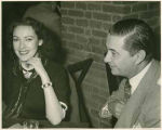 Actress Linda Darnell and Joe Martinez, Santa Fe, New Mexico