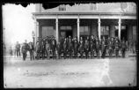 Group including military personnel, Socorro, New Mexico