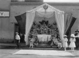 Corpus Christi altar at Sena Plaza, Santa Fe, New Mexico