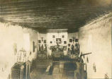 Interior of Mission Church at Isleta Pueblo, New Mexico