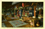 """General View, Interior of Indian Building, Albuquerque, New Mexico"""