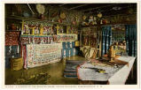 """A Corner in the Spanish Room, Indian Building, Albuquerque, New Mexico"""