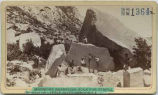 """Morman's Quarrying Rock for Temple, Mouth of Little Cottonwood Canyon"", Utah"