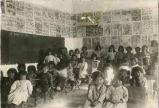 Classroom at the United States Indian School, Santa Fe, New Mexico