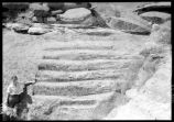 Steps at Site 295J761, Casa Rinconada, Chaco Canyon National Monument, New Mexico