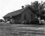 Railroad depot, Espanola, New Mexico