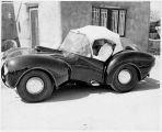 The Chic-ito automobile designed by Leopold E. Garcia, New Mexico