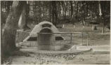 Spangler's Spring which provided water for both armies during the Civil War, Gettysburg National...