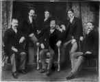 Sons of Levi Spiegelberg (left to right, Albert J., William J., Sidney, Charles, Eugene E. and...