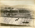 Buildings and corrals at Fort Union, New Mexico