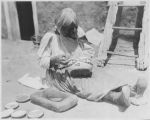 Potter at Zuni Pueblo, New Mexico, Charles L. Bernheimer Expedition