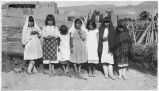 Group of children, Jemez Pueblo, New Mexico