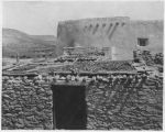 Exterior of Mission Church, Laguna Pueblo, New Mexico