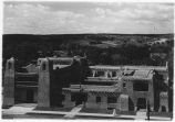 Museum of Fine Art as seen from top of Capital City Bank Buidling on July 1918, Santa Fe, New...