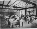 Dining Room in Marian Hall, Saint Vincents Hospital, Santa Fe, New Mexico