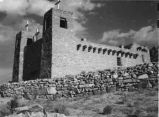 Mission church at McCartys, Acoma Pueblo, New Mexico