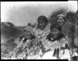 Group of inidentified Native American women