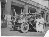 Car decorated for parade, Miner's Hospital, Raton, New Mexico