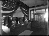 Interior, Woman's Board of Trade Library, Santa Fe, New Mexico