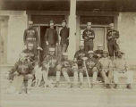 Baseball team, Troop L, 9th Cavalry, Fort Wingate, New Mexico