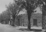 Old court house where Billy the Kis was tried, Mesilla, New Mexico