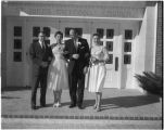 Tom Burris wedding, Saint John's Methodist Church, Santa Fe, New Mexico