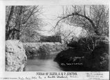 Irrigation ditch (acequia), Isleta Pueblo, New Mexico