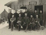 Officers of 1st New Mexico Infantry (National Guard), Regimental Headquarters, Columbus, New Mexico