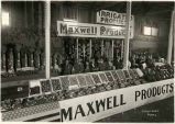 Produce display at the Maxwell Project, Colfax County, New Mexico