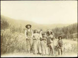 Family in the Mora Valley, New Mexico